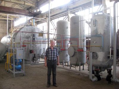 Биогазовая установка для экспорта в НДР Корею