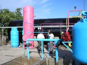 Биогазовая установка в Джалал-Абаде, ОФ Флюид
